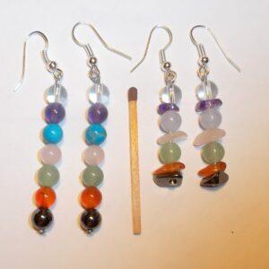 Necklaces and bracelets – chakra gemstones