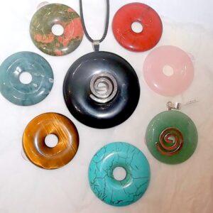 Donut pendants